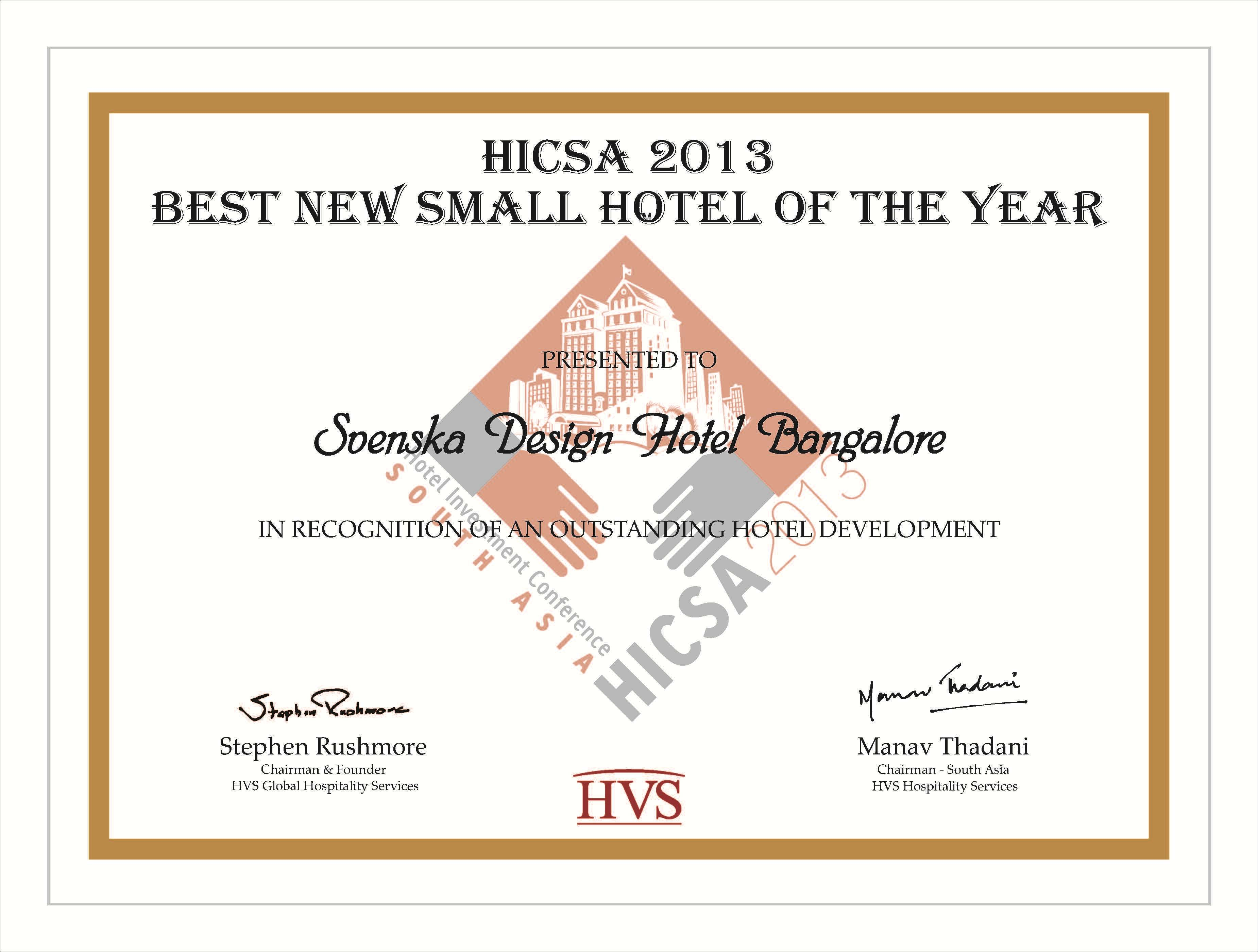 Svenska design hotels 5 star luxury boutique hotels for Design hotel awards